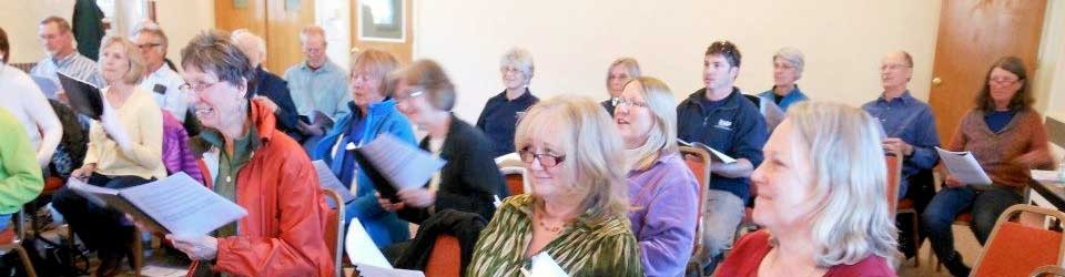 Aspen Choral Society rehearsal
