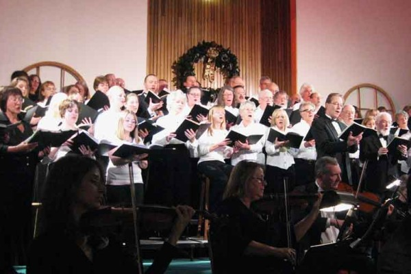 Messiah performance of Aspen Choral Society