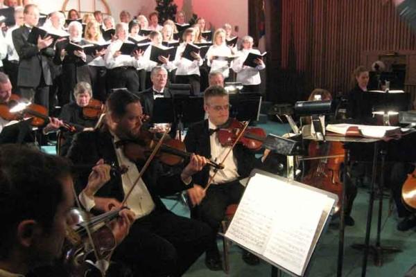 ACS Choir at Christmas time