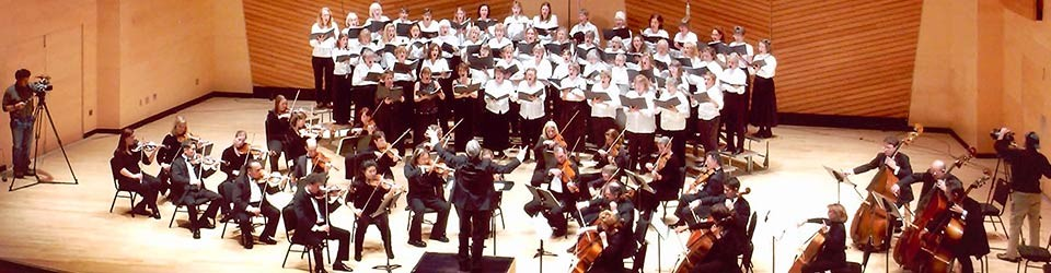 Aspen Choral Society performing at Harris Hall in Aspen
