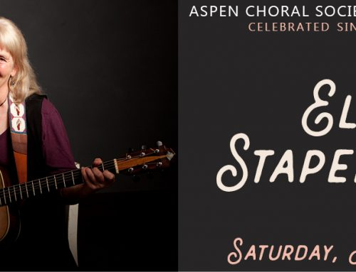 Local Singer-Songwriter Ellen Stapenhorst Launches the Aspen Choral Society's 42nd Season