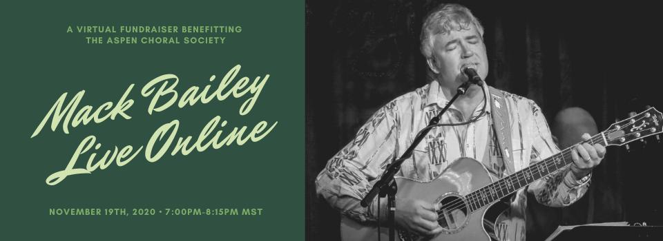 Mack Bailey Live Online